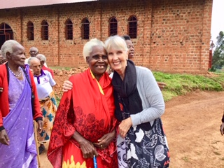 Evelyn, my sister in Kahama and my hero!